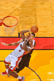 Miami, FL - JUNE 9 LeBron James and Danny Green Photographic Print