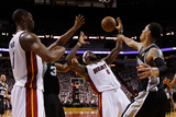 Miami, FL - JUNE 9 LeBron James, Boris Diaw and Danny Green Photographic Print