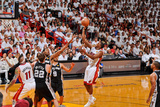 Miami, FL - JUNE 9 Mario Chalmers and Kawhi Leonard Photographic Print