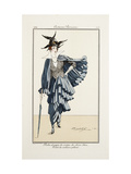Smithsonian Institution Libraries: Costumes. Journal des dames et des modes, Plate 75 Giclee Print