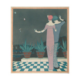 Costume Illustration by Georges Lepape Giclee Print