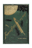 Smithsonian Libraries: Jules Verne Cover - Giclee Baskı