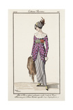 Parisian Costume Illustration Giclee Print