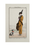 Smithsonian Institution Libraries: Costumes. Journal des dames et des modes, Plate 43 Giclee Print