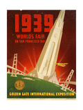 Golden Gate International Exposition, San Francisco Giclee Print
