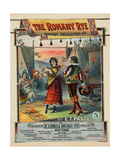 "Sheet Music Covers: ""The Romany Rye"" Composed by E.T. Paull, 1904 Giclee Print"