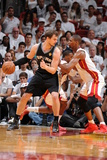 Miami, FL - JUNE 6 Tiago Splitter and Chris Bosh Photographic Print