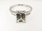 Diamond Ring Photographic Print