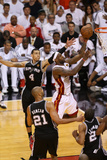Miami, FL - JUNE 6 LeBron James and Danny Green Photographic Print