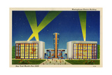 Westinghouse Westinghouse Electric Building. New York World's Fair 1939. Lámina giclée
