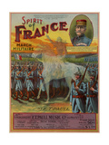 Spirit of France March Militaire, Sam DeVincent Collection, National Museum of American History Giclee Print
