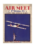 Air and Space: Air Meet Program Cover Photographic Print