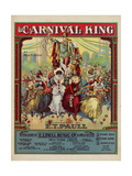 The Carnival King, Sam DeVincent Collection, National Museum of American History Giclee Print