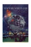 World's Fair: New York World's Fair 1964-1965 Reproduction procédé giclée