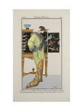Smithsonian Institution Libraries: Costumes. Journal des dames et des modes, Plate 32 Giclee Print
