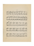 Collection of Illustrated American Sheet Music, Geography Sub Series Giclee Print