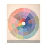 Rudolph Schaeffer, Color Wheel; Archive of American Art Giclee Print