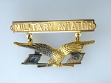Air and Space: Thomas Dewitt Milling's Military Aviator's Badge Photographic Print