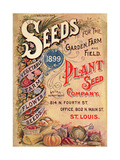 Seed Catalog Captions (2012): Plant Seed Company, St. Louis, Missouri Giclee Print