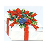 Greeting Card - Gift box with Ornaments, National Museum of American History Giclee Print