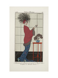 Smithsonian Institution Libraries: Costumes. Journal des dames et des modes, Plate 35 Giclee Print