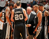 Miami, FL - JUNE 6 Head Coach Gregg Popovich of the San Antonio Spurs Photographic Print