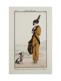 Parisian Costume Illustration Giclee Print