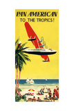 National Air and Space Museum: Pan American - To The Tropics! Giclee Print