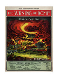 The Burning of Rome March-Twostep,  Center Sam DeVincent Collectio Giclee Print