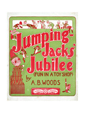 "Sheet Music Covers: ""Jumping Jacks' Jubilee"" Composed by A. B. Woods, 1901 Giclee Print"
