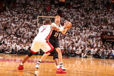 Miami, FL - JUNE 6 Matt Bonner and Chris Bosh Photographic Print