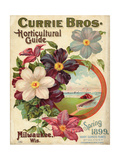 Currie Bros. Horticultural Guide, Spring 1899 Giclee Print