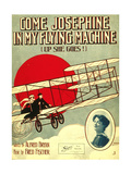 Smithsonian Libraries: Come, Josephine, in my Flying Machine (Up she Goes!) Giclee Print