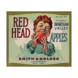 Warshaw Collection of Business Americana Food; Fruit Crate Labels, Smith & Holden Distributors Giclee Print