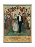 American Wedding March Giclee Print