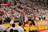 Miami, FL - JUNE 6 LeBron James and Gary Neal Photographic Print