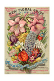 The Conyard and Jones' Co. New Floral Guide, Autumn 1898 Giclee Print