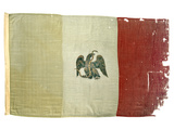 Mexican Flag from Statehouse in Victoria; National Museum of American History: Mexican Revolution Photographic Print