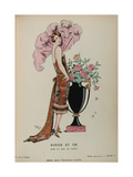 Costume Illustration by Georges Barbier Giclee Print
