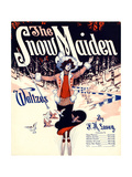 "Sheet Music Covers: ""The Snow Maiden"" Composed by F. H. Losey, 1920 Giclee Print"