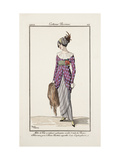 Smithsonian Institution Libraries: Costumes. Journal des dames et des modes, Plate 24 Giclee Print