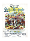 Charge of the Light Brigade March, Sam DeVincent Collection, National Museum of American History Giclee Print