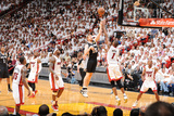Miami, FL - JUNE 9 Matt Bonner and Chris Bosh Photographic Print
