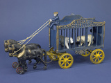 """Royal Circus"" Circus Wagon Cast Iron Toy, Sears Collection, National Museum of American History Photographic Print"