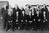 Twelve-Man Jury That Convicted Al Capone for Income Tax Evasion in 1931 Photo