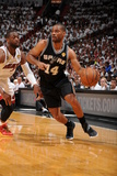 Miami, FL - JUNE 9 Gary Neal and Dwyane Wade Photographic Print