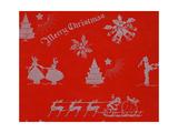 Bernard Levine Sample Book Collection, Gift Wrap Brand Christmas Wrappings Giclee Print