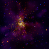 This Chandra X-ray Observatory Image Shows Westerlund 2, a Young Star Cluster Photographic Print