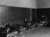U.S. Army Field Hospital in Hollerich, During the Spanish Flu Epidemic 1918-19 Print