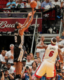 Miami, FL - JUNE 6 Kawhi Leonard and LeBron James Photographic Print